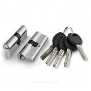 Цилиндровый механизм ключ/ключ A200/60 mm SN Матовый никель
