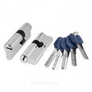 Цилиндровый механизм ключ/ключ Z400/80 mm CP Хром