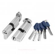 Цилиндровый механизм ключ/фиксатор Z402/60 mm CP Хром