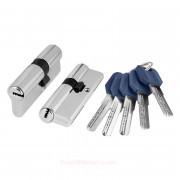 Цилиндровый механизм ключ/ключ Z400/60 mm CP Хром