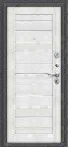 Стальная дверь Porta S 104.П22 Антик Серебро/Bianco Veralinga