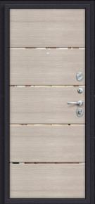 Стальная дверь Porta S 4.П50 IMP-6 Almon 28/Cappuccino Veralinga