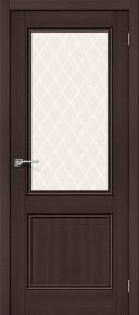 Межкомнатная дверь с экошпоном Порта-63 Wenge Veralinga