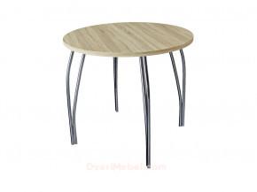 Стол обеденный круглый LС (ОС-11) Дуб сонома