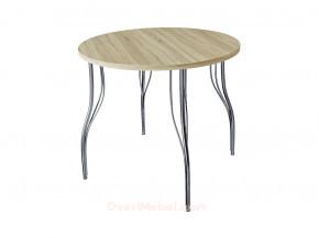 Стол обеденный круглый LС (ОС-12) Дуб сонома