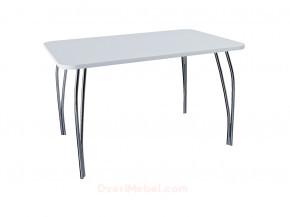 Стол обеденный прямоугольный LС (ОС-11) Белый