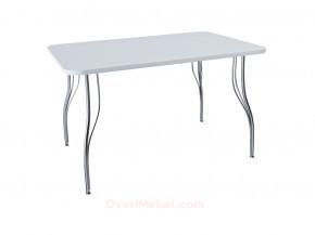 Стол обеденный прямоугольный LС (ОС-12) Белый