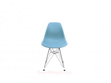 Стул Eddy-1 Light Blue