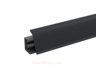 Плинтус для столешницы пластиковый АР-740 Черный