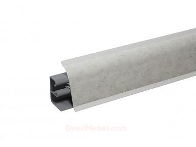 Плинтус для столешницы пластиковый АР-740 Камень бежевый (1231)