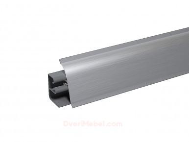 Плинтус для столешницы пластиковый АР-740 Металлик (820)