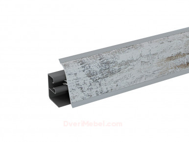 Плинтус для столешницы пластиковый АР-740 Винтажная сосна