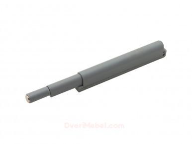 Упор-защелка с толкателем для фасадов (скрытое крепление) Серый