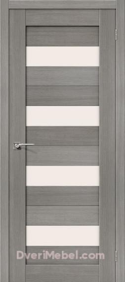 Межкомнатная дверь Финиш Флекс Порта-23 3D Grey