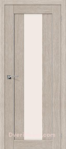 Межкомнатная дверь Финиш Флекс Порта-25 alu 3D Cappuccino