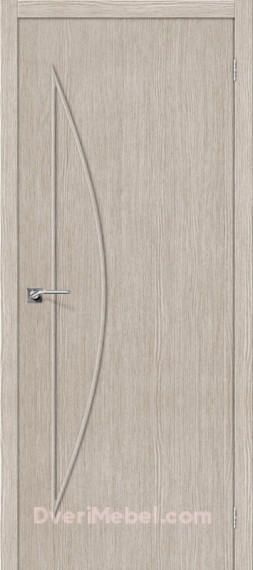 Межкомнатная дверь Финиш Флекс Мастер-5 3D Cappuccino