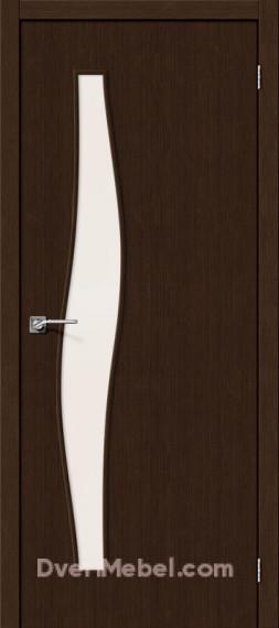 Межкомнатная дверь Финиш Флекс Мастер-8 3D Wenge