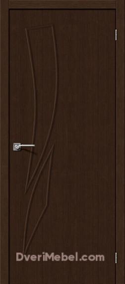 Межкомнатная дверь Финиш Флекс Мастер-9 3D Wenge