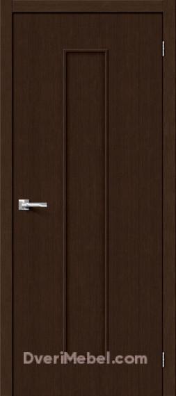 Межкомнатная дверь Финиш Флекс Тренд-13 3D Wenge
