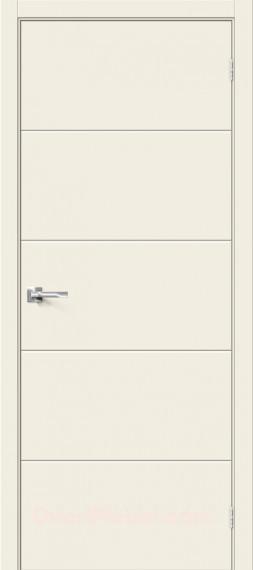 Межкомнатная дверь с пленкой ПВХ Граффити-2 Белый