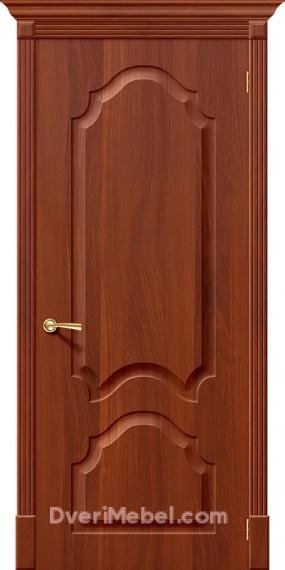 Межкомнатная дверь с ПВХ-пленкой Скинни-32 итальянский орех