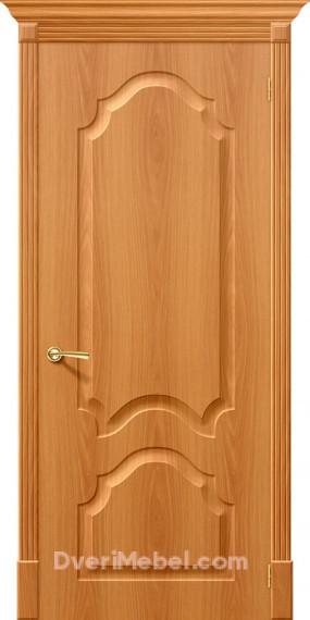 Межкомнатная дверь с ПВХ-пленкой Скинни-32 миланский орех