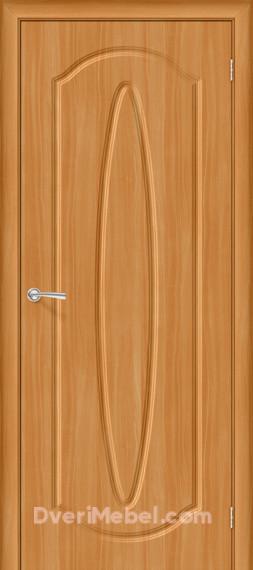 Межкомнатная дверь с ПВХ-пленкой Орбита Плюс, миланский орех