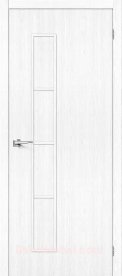 Межкомнатная дверь Тренд-3 Snow Veralinga