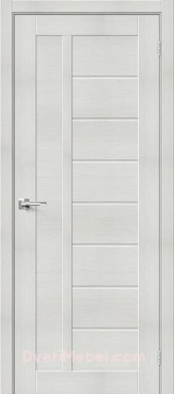Межкомнатная дверь с экошпоном Порта-26 Bianco Veralinga