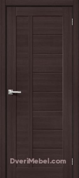 Межкомнатная дверь с экошпоном Порта-26 Wenge Veralinga