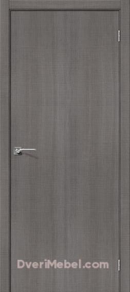 Межкомнатная дверь с экошпоном Порта-50 Grey Crosscut