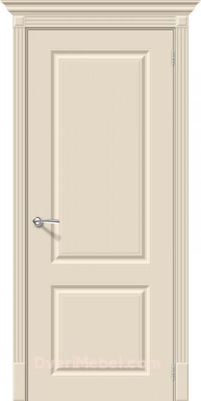 Межкомнатная окрашенная дверь Скинни-12 Cream