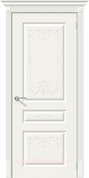 Межкомнатная окрашенная дверь Скинни-14 Аrt Whitey