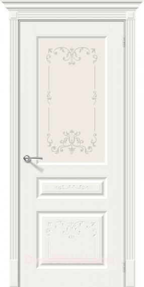 Межкомнатная окрашенная дверь Скинни-15.1 Аrt Whitey