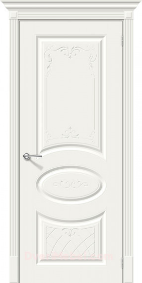 Межкомнатная окрашенная дверь Скинни-20 Аrt Whitey