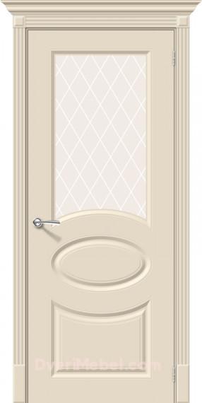 Межкомнатная окрашенная дверь Скинни-21 Cream