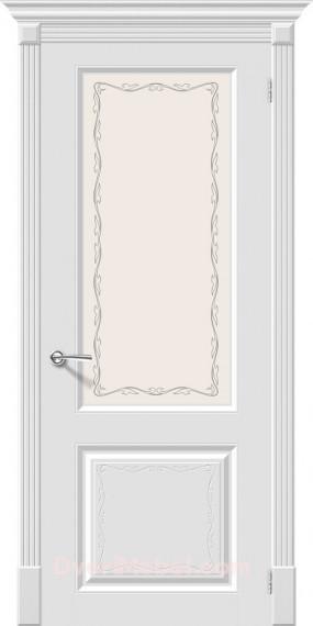 Межкомнатная окрашенная дверь Скинни-13 Аrt Whitey