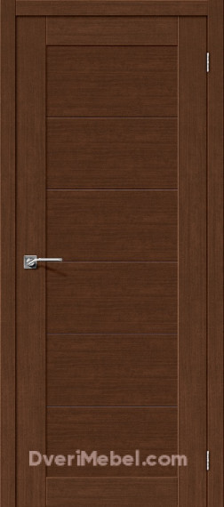 Межкомнатная дверь Легно-21 Brown Oak
