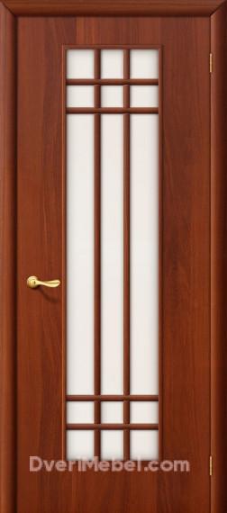 Межкомнатная ламинированная дверь 16С итальянский орех