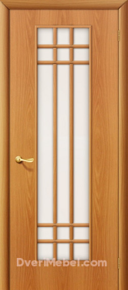 Межкомнатная ламинированная дверь 16С миланский орех