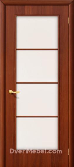 Межкомнатная ламинированная дверь 10С итальянский орех