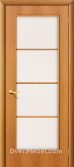 Межкомнатная ламинированная дверь 10С миланский орех
