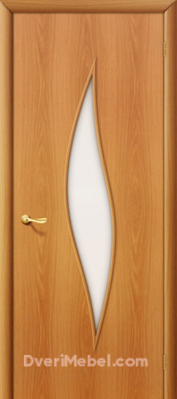 Межкомнатная ламинированная дверь 12С миланский орех
