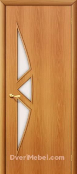 Межкомнатная ламинированная дверь15С миланский орех