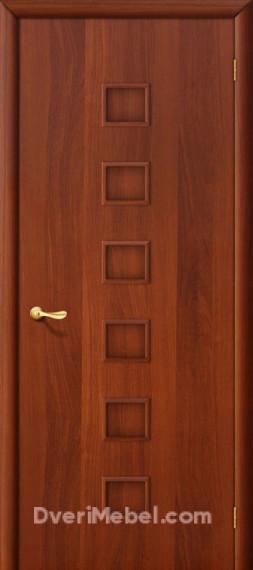 Межкомнатная ламинированная дверь 1Г итальянский орех