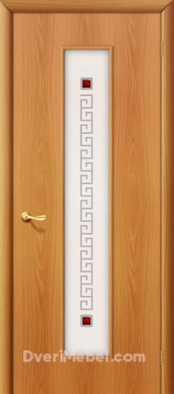 Межкомнатная ламинированная дверь 21Х миланский орех