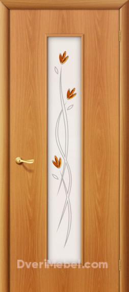 Межкомнатная ламинированная дверь 22Х миланский орех