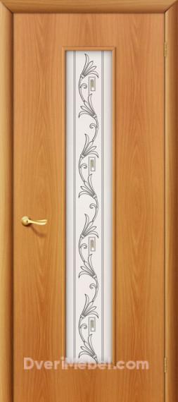 Межкомнатная ламинированная дверь 24Х миланский орех