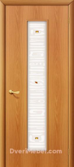 Межкомнатная ламинированная дверь 25Х миланский орех