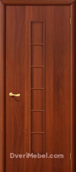 Межкомнатная ламинированная дверь 2Г итальянский орех
